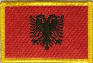 Yantec Patch Baden W/ürttemberg 4 x 6 cm Flaggenaufn/äher